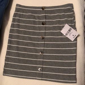 BNWT Forever 21 striped skirt